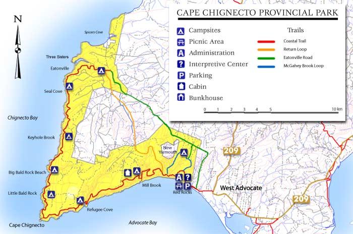 Worksheet. Cape Chignecto  Nova Scotia Provincial Parks