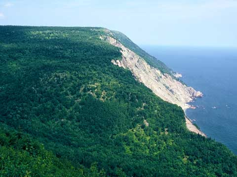 Cliffs at Cape Smokey
