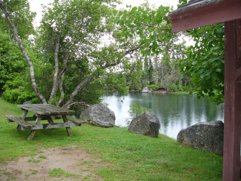 East River picnic area