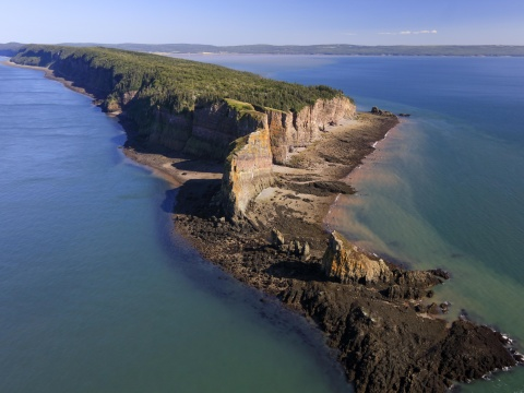 aerial view cape split
