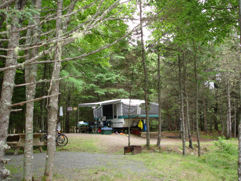 rissers beach camping